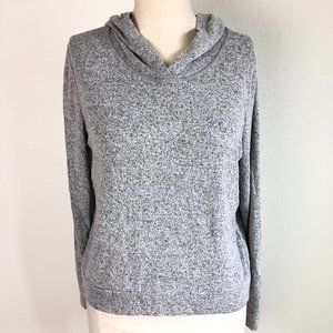 Zella Girls Gray Pullover Hoodie L (10-12) NWT
